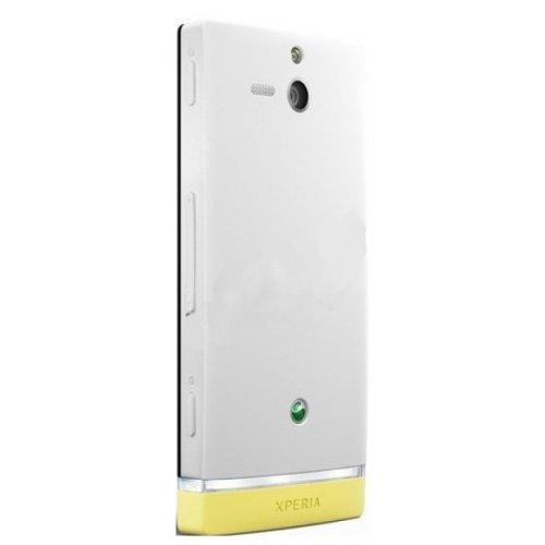 Фото Смартфон Sony Xperia U ST25i White/Yellow