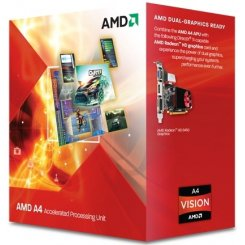 Фото Процессор AMD A4-7300 3.8GHz 1MB sFM2 Box (AD7300OKHLBOX)