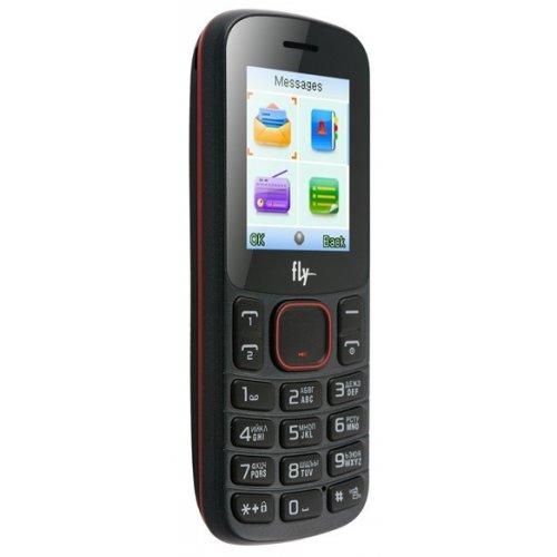 Фото Мобильный телефон Fly DS105C Black Red