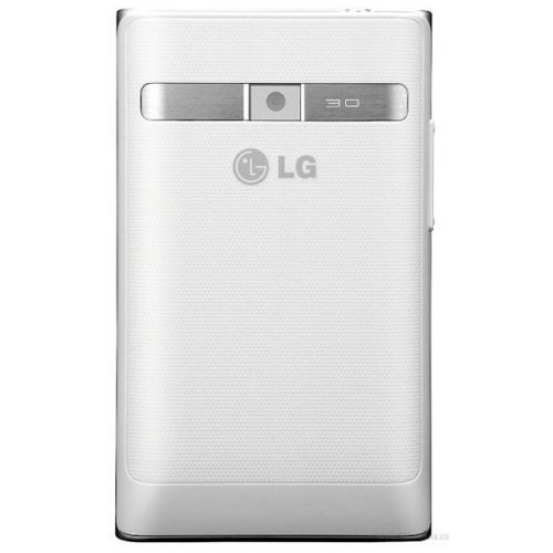 Фото Смартфон LG Optimus L3 E400 White
