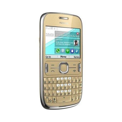 Фото Мобильный телефон Nokia Asha 302 Golden Light