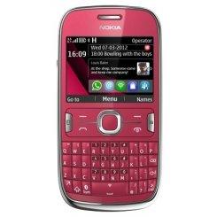 Фото Мобильный телефон Nokia Asha 302 Plum Red