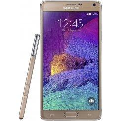 Фото Смартфон Samsung Galaxy Note 4 N910H Gold