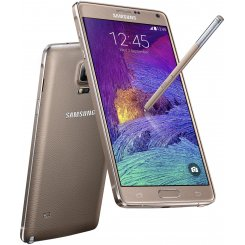 Фото Смартфон Samsung Galaxy Note 4 N910H Gold