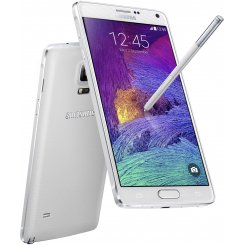 Фото Смартфон Samsung Galaxy Note 4 N910H White