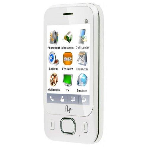Фото Мобильный телефон Fly E141 TV White