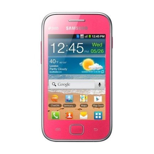 Фото Смартфон Samsung Galaxy Ace Duos S6802 Pink