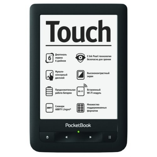 Фото Электронная книга PocketBook 622 Touch Black
