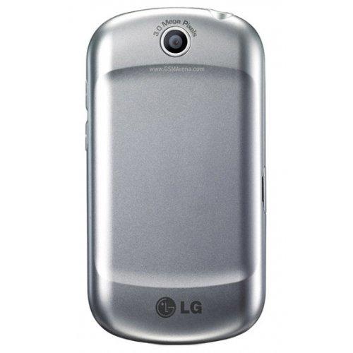 Фото Смартфон LG Optimus Me P350 Silver