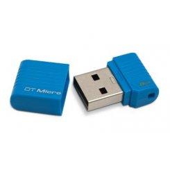 Фото Накопитель Kingston DataTraveler Micro 8GB Blue