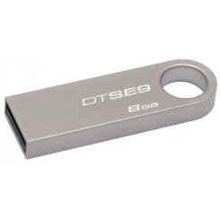 Фото Накопитель Kingston DataTraveler SE9 8GB Silver (DTSE9H/8GB)
