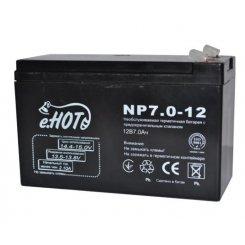 Фото Аккумуляторная батарея ENOT NP7-12 12В 7Ач (NP7-12)