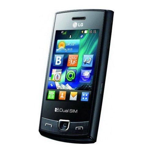 Фото Смартфон LG P520 Black