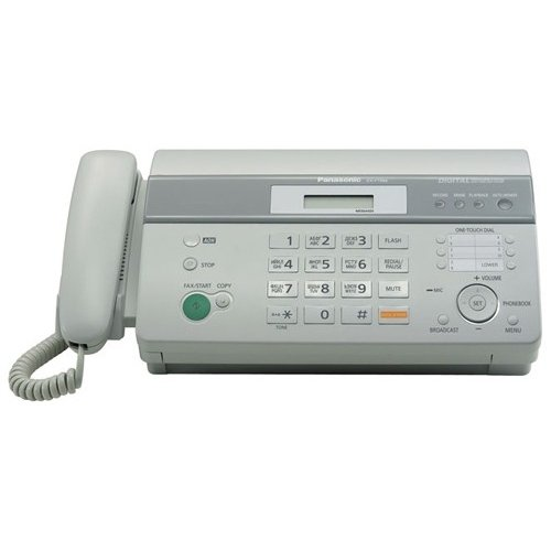 Фото Факс Panasonic KX-FT988UA-W White