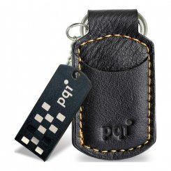 Фото Накопитель PQI I-Stick i820 4GB Leather KeyChain Black
