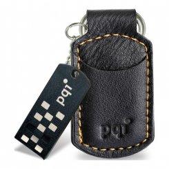 Фото Накопитель PQI I-Stick i820 Leather KeyChain 8GB Black