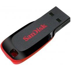 Фото Накопитель SanDisk Cruzer Blade 32GB Black Red (SDCZ50-032G-B35)