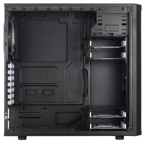 Фото Корпус Fractal Design Core 2500 без БП (FD-CA-CORE-2500-BL) Black