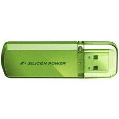 Фото Накопитель Silicon Power Helios 101 16GB Green (SP016GBUF2101V1N)