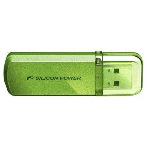 Фото Накопитель Silicon Power Helios 101 8GB Green (SP008GBUF2101V1N)