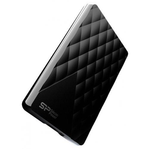 Фото Внешний HDD Silicon Power Diamond D06 500GB (SP500GBPHDD06S3K) Black