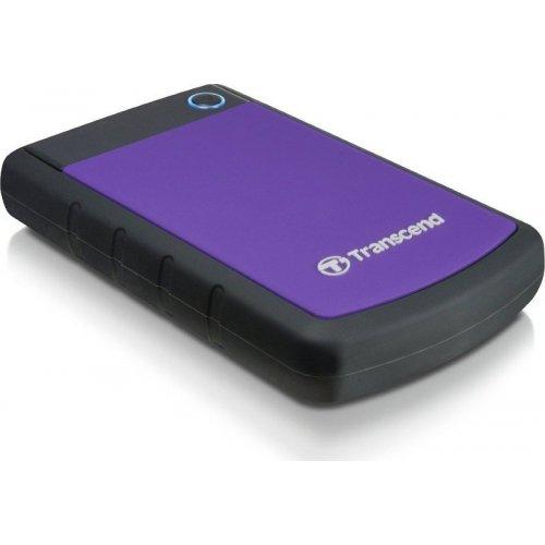 Фото Внешний HDD Transcend StoreJet 25H3P 2TB (TS2TSJ25H3P) Purple