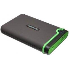 Фото Внешний HDD Transcend StoreJet 25M3 2TB (TS2TSJ25M3) Black/Green