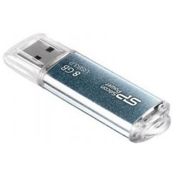 Фото Накопитель Silicon Power Marvel M01 USB 3.0 8GB Blue (SP008GBUF3M01V1B)