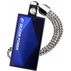 Фото Накопитель Silicon Power Touch 810 4GB Blue (SP004GBUF2810V1B)
