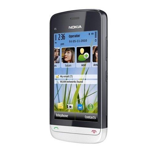 Фото Мобильный телефон Nokia C5-03 Aluminium Grey