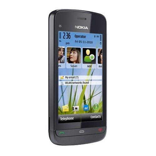Фото Мобильный телефон Nokia C5-03 Graphite Black