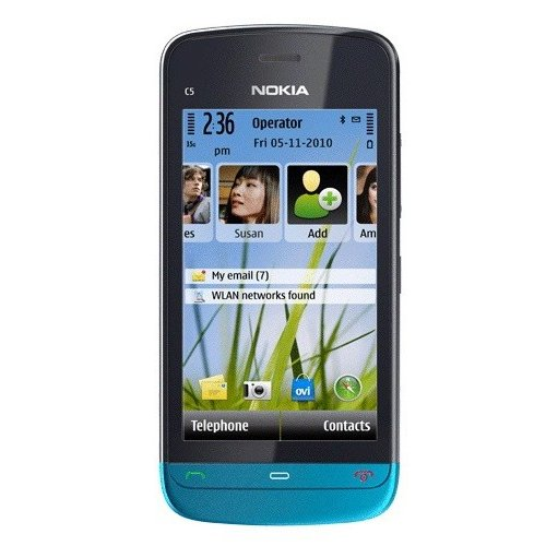 Фото Мобильный телефон Nokia C5-03 Petrol Blue