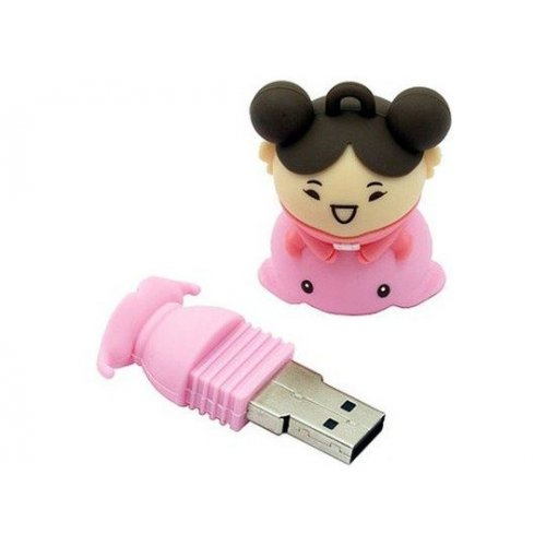 Фото Накопитель Silicon Power Unique 520 4GB Pink
