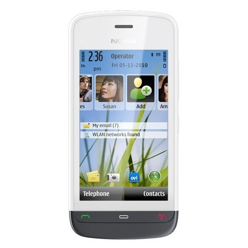 Фото Мобильный телефон Nokia C5-03 White Graphite Black