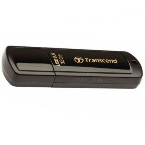 Фото Накопитель Transcend JetFlash 350 32GB Black (TS32GJF350)
