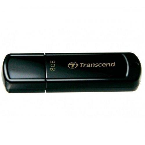 Фото Накопитель Transcend JetFlash 350 8GB Black (TS8GJF350)