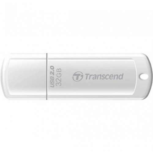 Фото Накопитель Transcend JetFlash 370 32GB White (TS32GJF370)