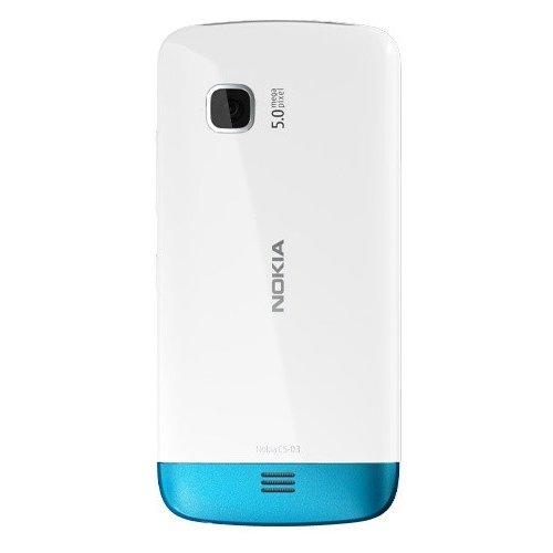Фото Мобильный телефон Nokia C5-03 White Petrol Blue