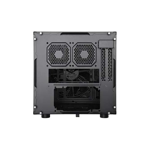 Фото Корпус Thermaltake Core V1 без БП (ITX CA-1B8-00S1WN-00) Black