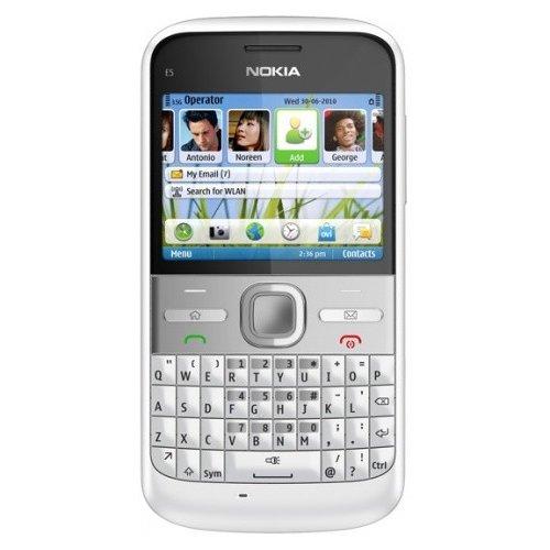 Фото Мобильный телефон Nokia E5-00 White