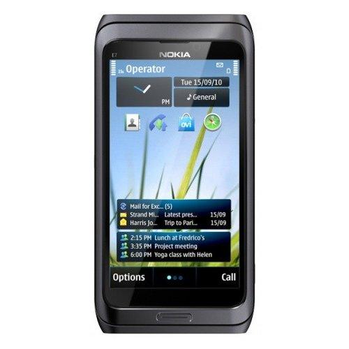 Фото Мобильный телефон Nokia E7-00 Dark Grey