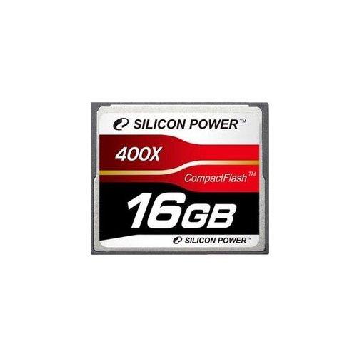 Фото Карта памяти Silicon Power CF 16GB (400x) (SP016GBCFC400V10)