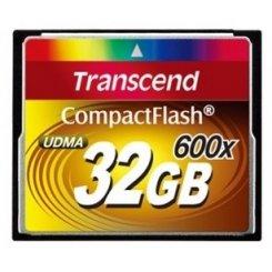 Фото Карта памяти Transcend CF 32GB (600x) (TS32GCF600)