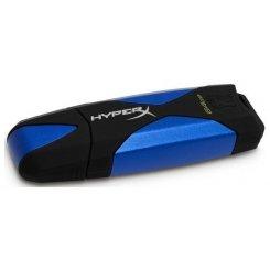 Фото Накопитель Kingston DataTraveler HyperX USB 3.0 64GB Black (DTHX30/64GB)