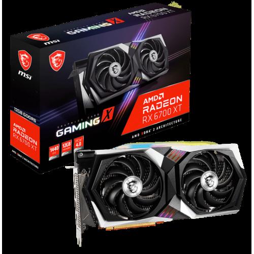 Фото Видеокарта MSI Radeon RX 6700 XT GAMING X 12288MB (RX 6700 XT GAMING X 12G)