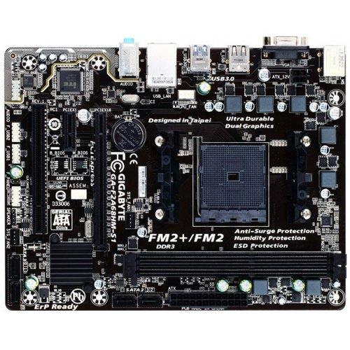 Фото Материнская плата Gigabyte GA-F2A68HM-S1 (sFM2+, AMD A68)