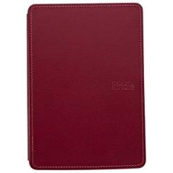 Фото Чехол Обложка Amazon Kindle 4 Lighted Leather Cover Wine Purple