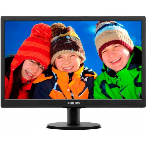 "Фото Монитор Philips 18.5"" 193V5LSB2/62 Black"