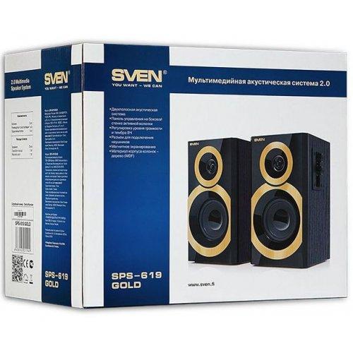 Фото Акустическая система SVEN SPS-619 Gold