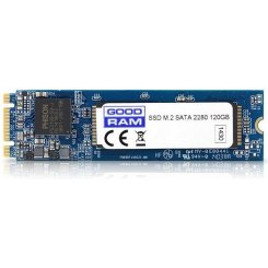 Фото SSD-диск GoodRAM M8180 MLC 120GB M.2 (2280 SATA) (SSDPB-M8180-120)